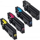 Dell C2660 (4-pack) High Yield Toner Cartridges