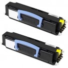 Dell 1720 (2-pack) Black Toner Cartridges