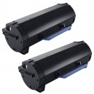 Dell B2360 (2-pack) High Yield Black Toner Cartridges