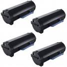 Dell B2360 (4-pack) High Yield Black Toner Cartridges