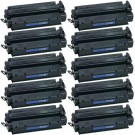 HP 15X (C7115X) 10-pack High Yield Black Toner Cartridges