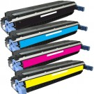 HP 645A (C9730-3A) 4-pack Laser Toner Cartridges