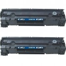 HP 78A (CE278A) 2-pack Black Toner Cartridges