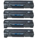 HP 78A (CE278A) 4-pack Black Toner Cartridges