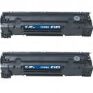 HP 85A (CE285A) 2-pack Black Toner Cartridges