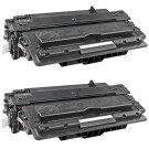 HP 14X (CF214X) 2-pack High Yield Black Toner Cartridges