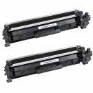 HP 17A (CF217A) 2-pack Black Toner Cartridges