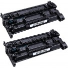 HP 26A (CF226A) 2-pack Black Toner Cartridges