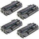 HP 80A (CF280A) 4-pack Black Toner Cartridges