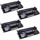 HP 87X (CF287X) 4-pack High Yield Black Toner Cartridges