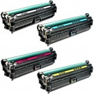 HP 654X / 654A 4-pack Laser Toner Cartridges