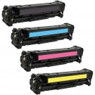 HP 201X (CF400-3X) 4-pack High Yield Laser Toner Cartridges
