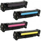 HP 410X (CF410-3X) 4-pack High Yield Laser Toner Cartridges