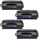HP 49X (Q5949X) 4-pack High Yield Black Toner Cartridges