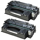 HP 53X (Q7553X) 2-pack High Yield Black Toner Cartridges
