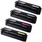 Samsung CLT-504S Black & Color 4-pack Toner Cartridges