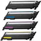 Samsung CLT-406S Black & Color 4-pack Toner Cartridges
