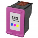HP 63XL F6U63AN High Yield Color Ink Cartridge